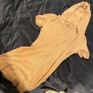 Hooded stretch T shirt